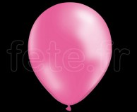 50 BALLONS - Latex - Unis - NACRE - Ø30cm ROSE