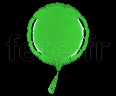 Ballon - Mylar - Rond - Brillant - Uni - 20cm