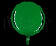 Ballon - Mylar - Rond - Brillant - Uni - 45cm SAPIN