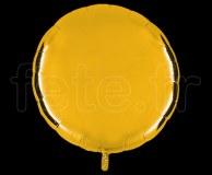 Ballon - Mylar - Rond - Brillant - Uni - 90cm OR