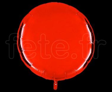 Ballon - Mylar - Rond - Brillant - Uni - 90cm