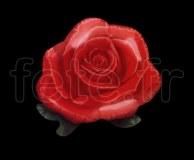 Ballon - Mylar - Forme - Deco - Ø 90cm ROSE-ROUGE