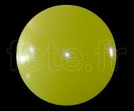 Ballon - Vinyle - Unis - Mat - 3.60m JAUNE