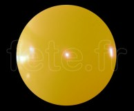 Ballon - Vinyle - Unis - Mat - 3m JAUNE