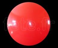 Ballon - Vinyle - Unis - Mat - 3m ROUGE