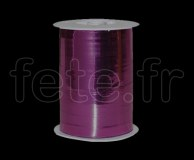 Bolduc - Metal - Uni - 250m x 1cm - FUSHIA