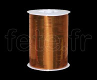 Bolduc - Metal - Uni - 250m x 1cm - ORANGE