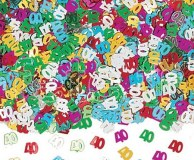Confettis - Table - 40 - Ø 11mm - 14g MULTICOLORE