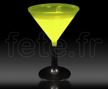 6_Coupes - Martini - Fluo - 22cl _JAUNE