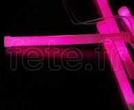 EASY-LIGHT - Batonnet - Fluo - Fermoir - 15cm X 11mm - ROSE