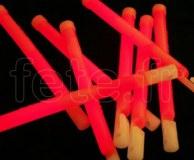 EASY-LIGHT - Batonnet - Fluo - Fermoir - 15cm X 11mm - ROUGE