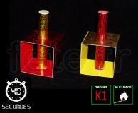 6 FONTAINES deTABLE - PM - 95mm - Durée 40s