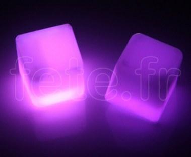Glacon - Cube - Fluo - 3cm -