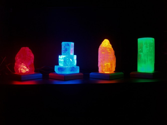 NEWS : Lampe HALITE - SELENITE
