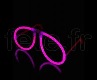 LUNETTE FLUO - Unicolore - 2 X 20cm X 5mm - ROSE