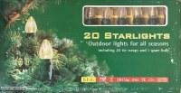Guirlande de Noel de 20_Ampoules Néon - L=12,5m - 220v - FLAMME