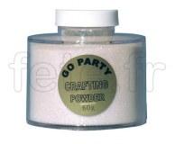 Paillette - Décoration - Table - Poudre - 100g BLANC IRISE