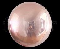 Ballon - Mylar - Sphérique - Miroir - Uni - Ø 40cm ROSE