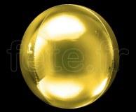 Ballon - Mylar - Sphérique - Miroir - Uni - Ø 40cm OR